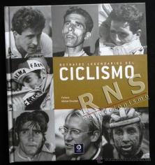 Retratos legendarios del ciclismo.